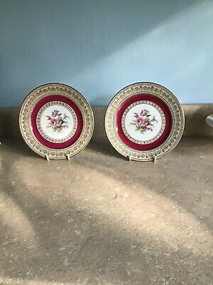 Two Thomas Bavaria Vintage Cabinet Plates • 25.95£