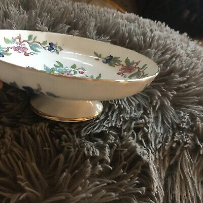 Aynsley Footed Bowl • 4.20£