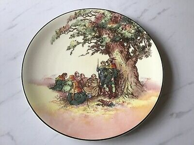 Royal Doulton  Under The Greenwood Tree   Round Charger  • 10£