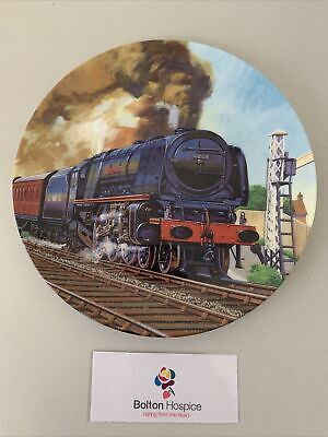 Royal Doulton Hornby Decorative Plate Full Head Of Steam #809 • 2£