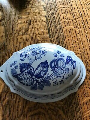Spode Blue Collection Jelly Mould • 2.20£