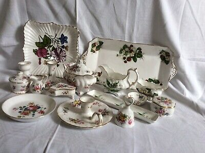 Hammersley Fine Bone China. 14 Collectible Pieces, And 2 Pieces Of Ashley China • 20£