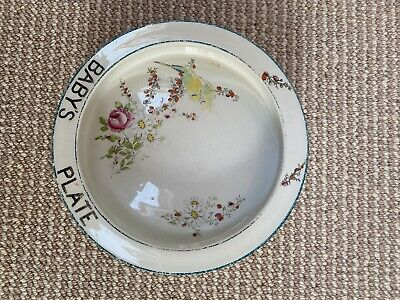 Vintage Royal Paragon Baby Plate Circa 1930 To Mark Birth Of Princess Margaret • 20£