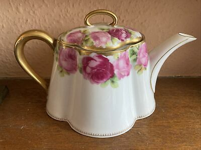 Beautiful Rosenthal Cacilie Mums Roses Teapot Lid A/F • 25£