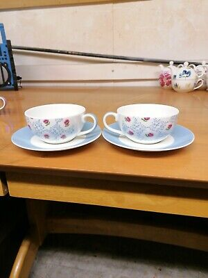 Laura Ashley Tea Cup And Saucer X2 • 12.50£