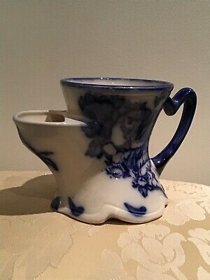 Antique Ironstone Staffordshire Floris Victoria Shaving Jug • 10£