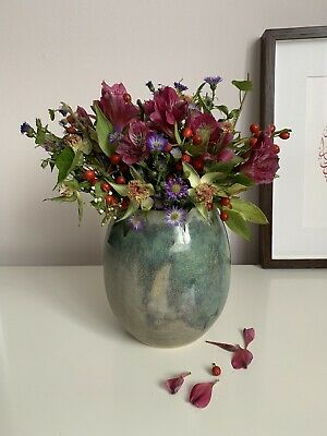 Handmade In London One Of A Kind Ceramic Vase Anthropology Style • 22£