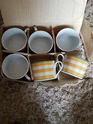 Set Of 6 Ttc China Cups By Topchoice • 9.99£