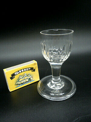 ANTIQUE GLASS 8.8 Cm HIGH. LATE 18TH - EARLY 19TH CENTURY. • 19.99£