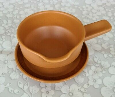 Purbeck Pottery Toast Range Sauce Boat And Saucer • 6£