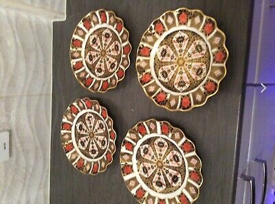 Royal Crown Derby Fluted Plates first quality • 122£