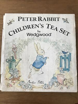 Peter Rabbit Childrens Tea Set By Wedgwood • 23£
