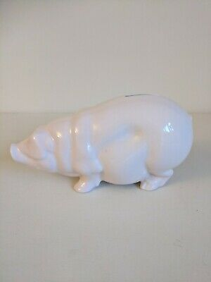 Poole Pottery Pink Pig Money Box Piggy Bank • 20£