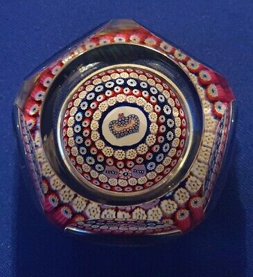 Whitefriars Silver Jubilee Glass Paperweight • 78£