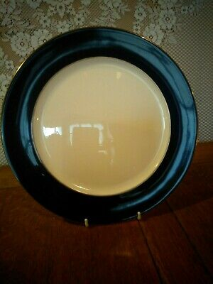 Royal Crown Derby Cobalt Band A.1311 Large Dinner Plate 12  Inches - 8 Plates • 96£