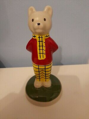 No2 Rupert Bear Porcelain 1996 Camtraks By Wade  • 10£