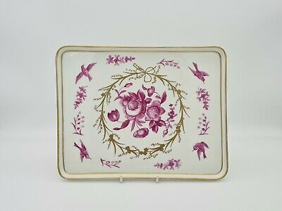 ANTIQUE 19th C MEISSEN? HAND PAINTED TRAY  • 149.49£