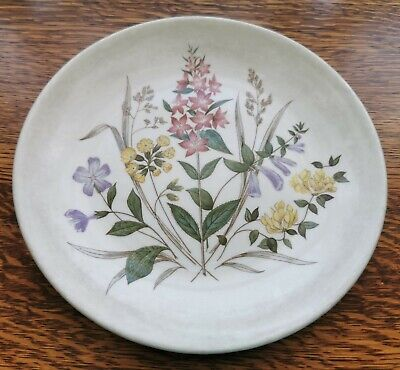 English Garden Pattern Single Side Plate By Ridgway Staffordshire See Descriptio • 1.99£
