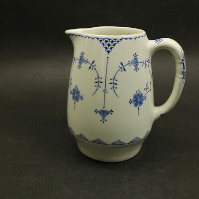 FURNIVALS- Denmark Blue - Jug / Pitcher 15cm / 6  Tall -  700mls /24fl Ozs   • 15£