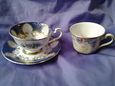 VINTAGE PARAGON CUP AND SAUCER And Royal Winton Cup. • 2.99£