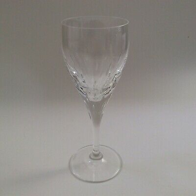 Galway Crystal Claret Wine Glass Raindrops Pattern 7in Tall • 15£