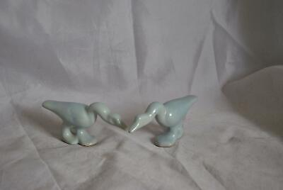 Shearwater Pottery 2 Small Geese Figurals • 34.30£