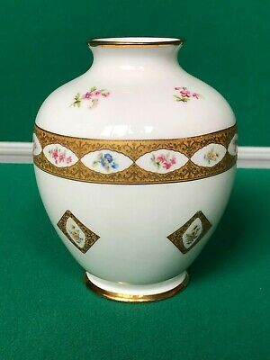 Princess Royale Bone China Vase/ornament Hand Made And Decorated Used  • 20£