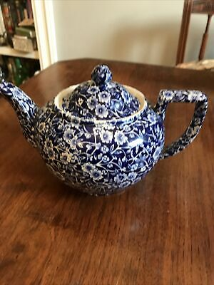 Calico Staffordshire Teapot • 15£