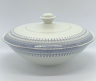 "Ridgway Staffordshire Venetian Lidded Tureen Covered Serving Bowl 9.25"" • 10£"