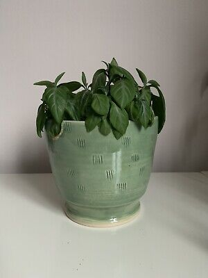 Handmade In London Large Ceramic Plant Pot Anthropology Style • 18£