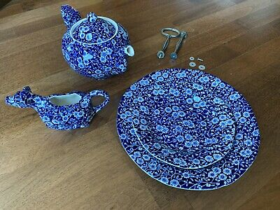 Burleigh Afternoon Tea Complete Calico SetPre-owned Excellent Conditions • 55£