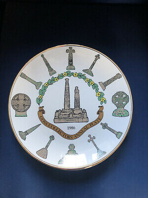 W H Goss Collectors Annual Plate 1982 To 1986 • 4.25£