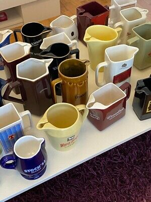 Collectable Pub Jugs • 175£