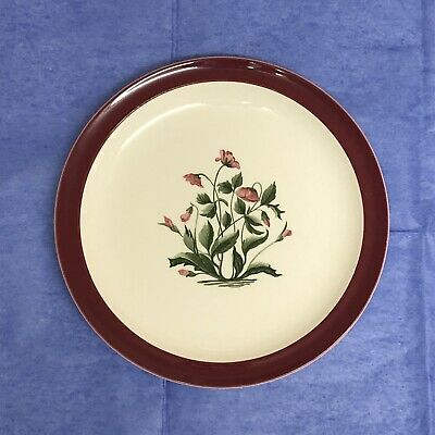 RARE Wedgwood Mayfield Ruby Plate • 15.99£