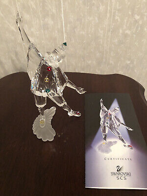SIGNED BY ADI STOKER Pierrot Swarovski Collectors Society 1999 Exclusive Piece  • 60£