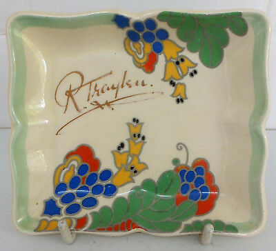 Art Deco Royal Doulton Advertising Pin Tray • 55£