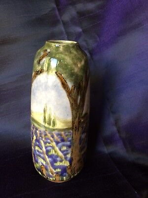 Cobridge (Moorcroft) Lavender Fields Vase, 2003, 19cm • 108£