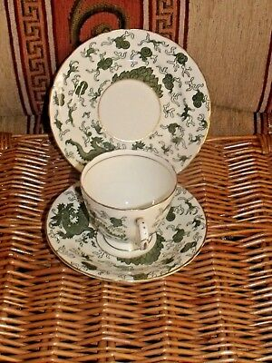 Vintage Delphine China Dragon Design Trio • 9.99£