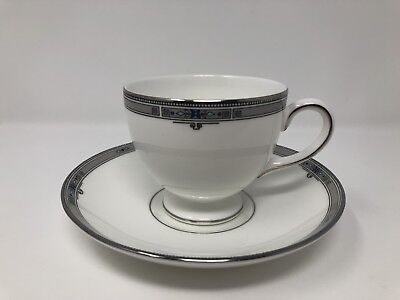 Wedgwood 'Amherst' Tea Cup And Saucer - 1st Quality • 15£