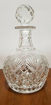 Royal Doulton Crystal Glass Decanter Round • 20.90£