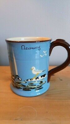 Babbacombe Pottery, Torquay, Tankard, Newquay, First Today, Good Condition • 22£