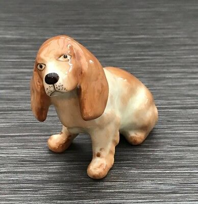 WR Midwinter Burslem Basset Hound Dog - Harline Crack Displays Well • 16.95£