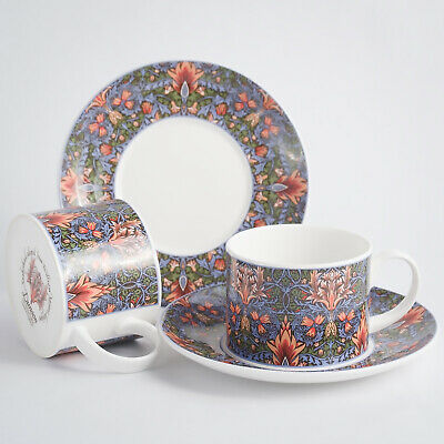 Dunoon Snakeshead (William Morris) 2 Cups & Saucers 1st Quality • 14.99£