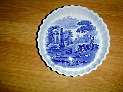 SPODE ITALIAN 7.5  Diameter Imperial Cookware Flan Dish ~ 1st ~ Excellent • 14.99£
