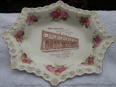 Large V. Rare Hyde Co-operative 1852-1912  Jubilee Advertising Display Platter  • 60£