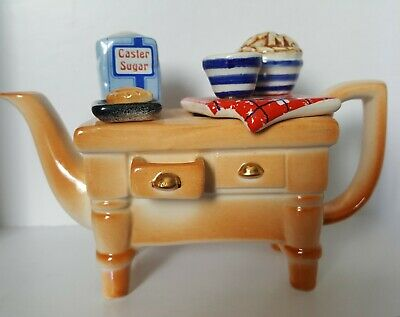 Paul Cardew Design Small (8cm) Novelty Baking Table Teapot Excellent Condition • 25£