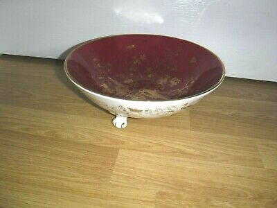 Stunning COALPORT Bone China 3 Footed Large Bowl ~ CAIRO ~ Excellent ~ 1st • 29.99£