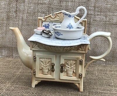Paul Cardew Limited Edition 500 Novelty Collectors Teapot Victorian Wash Stand • 75£