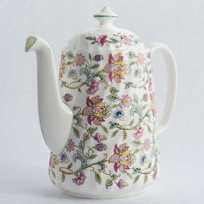 Minton Haddon Hall Coffee Pot 8.5  Made In England 1st Quality • 59.99£