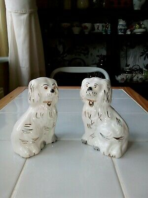 A Pair Of Beswick Pot Dogs • 35£